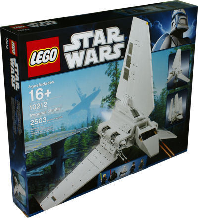LEGO Exklusiv 10212 Star Wars Imperial Shuttle