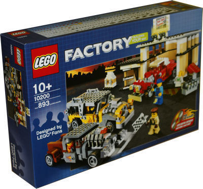 LEGO Exklusiv 10200 Custom Car Garage V29