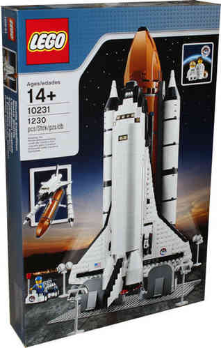 LEGO Exklusiv 10231 Space Shuttle