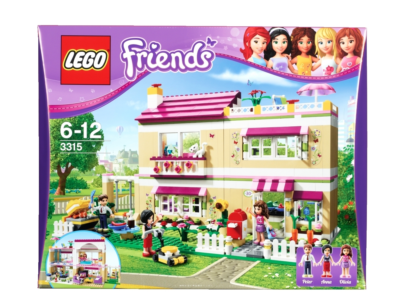 lego friends 3315 traumhaus spielzeug berlin teltow. Black Bedroom Furniture Sets. Home Design Ideas
