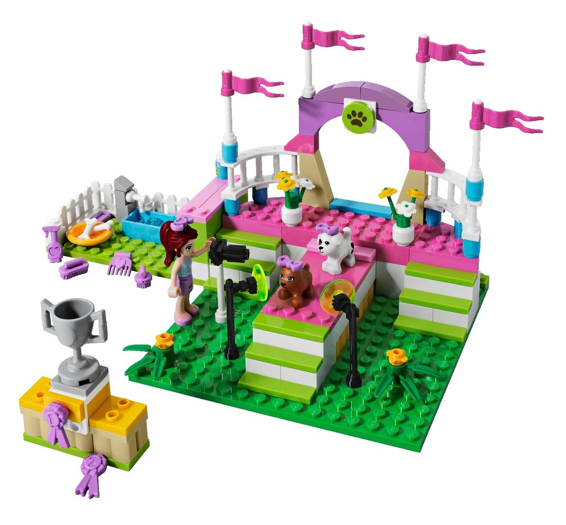 lego friends 3942 die gro e hundeschau spielzeug berlin teltow. Black Bedroom Furniture Sets. Home Design Ideas