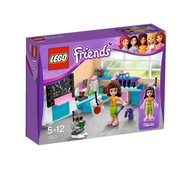 lego friends 3933 olivias ideenwerkstatt spielzeug berlin teltow. Black Bedroom Furniture Sets. Home Design Ideas