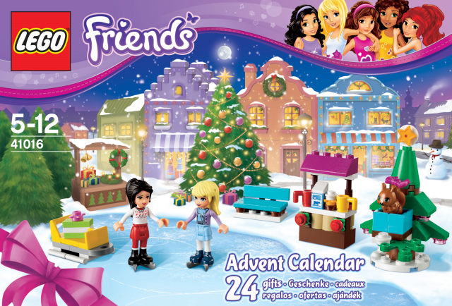 Weihnachtskalender Lego Friends.Lego Friends 41016 Adventskalender Miwarz De Berlin Teltow