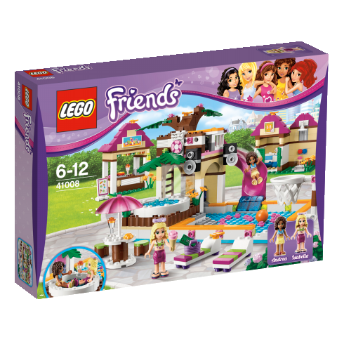 LEGO Friends 41008 Großes Schwimmbad
