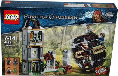 Lego Fluch Der Karibik 4183 Duell An Der Wassermühle Berlin
