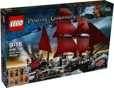 Lego Fluch Der Karibik 4195 Queen Annes Revenge Berlin Teltow