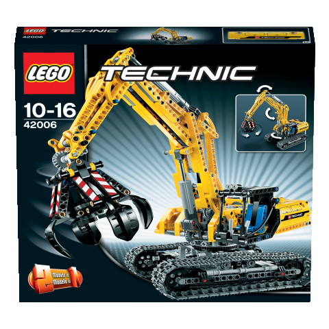 lego technic 42006 raupenbagger miwarz spielzeug berlin teltow. Black Bedroom Furniture Sets. Home Design Ideas