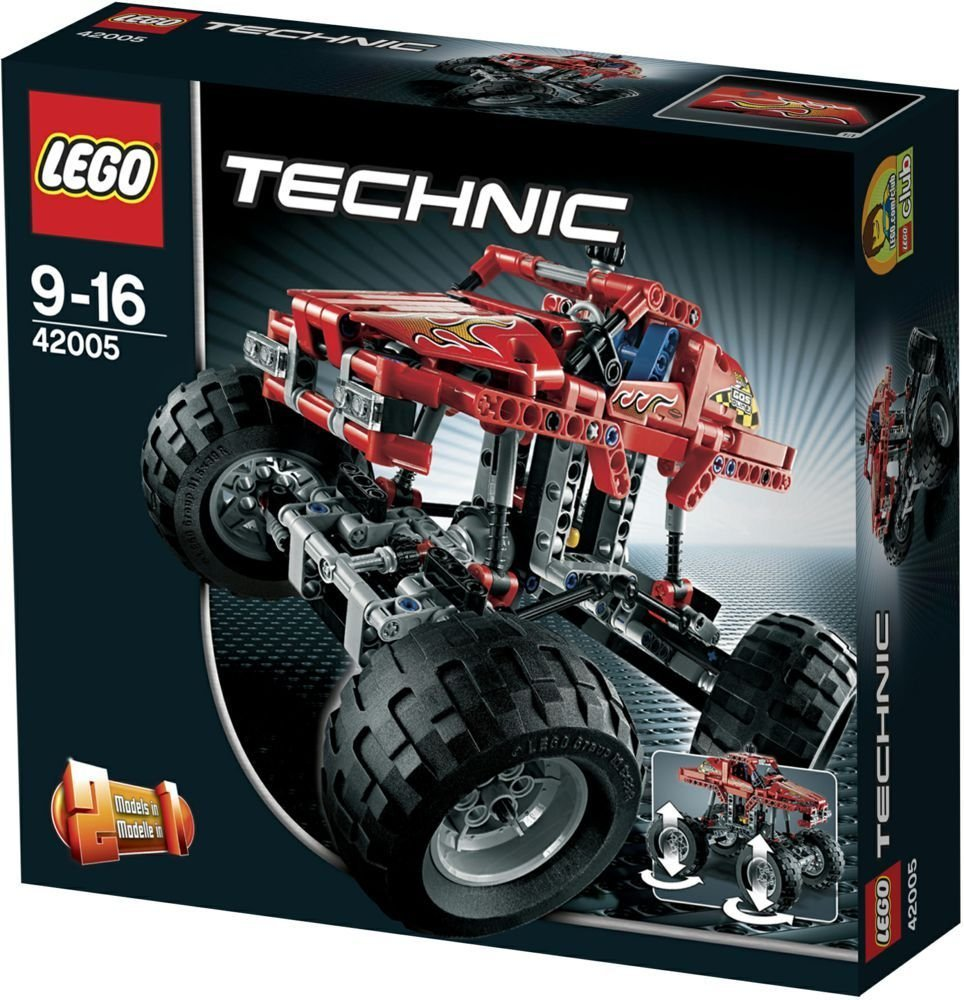 lego technic 42005 monster truck miwarz spielzeug berlin. Black Bedroom Furniture Sets. Home Design Ideas