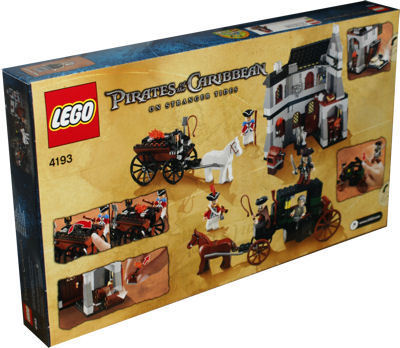 Lego Fluch Der Karibik 4193 Flucht Aus London Berlin Teltow