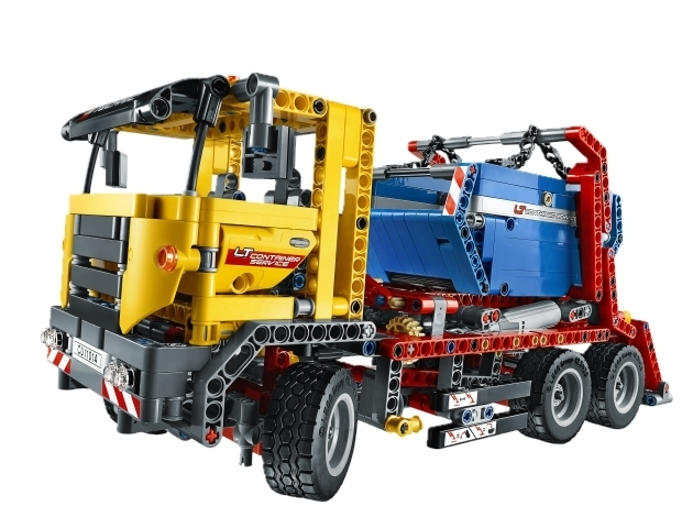 lego technic 42024 container truck spielzeug. Black Bedroom Furniture Sets. Home Design Ideas