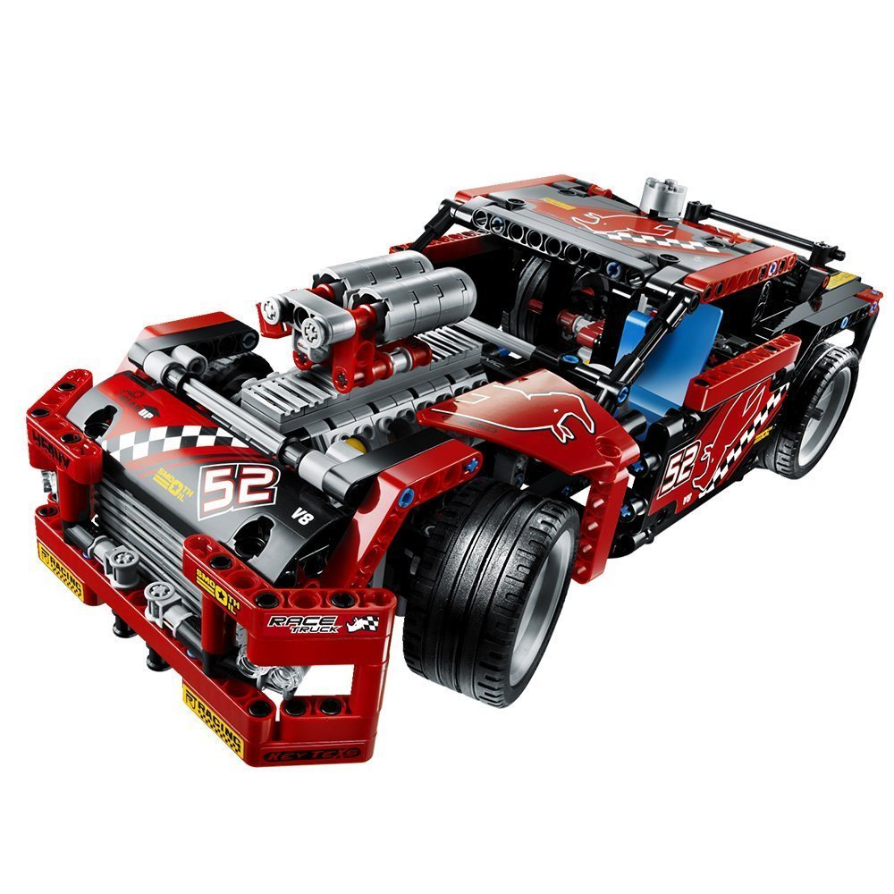 lego technic 42041 renn truck spielzeug berlin. Black Bedroom Furniture Sets. Home Design Ideas