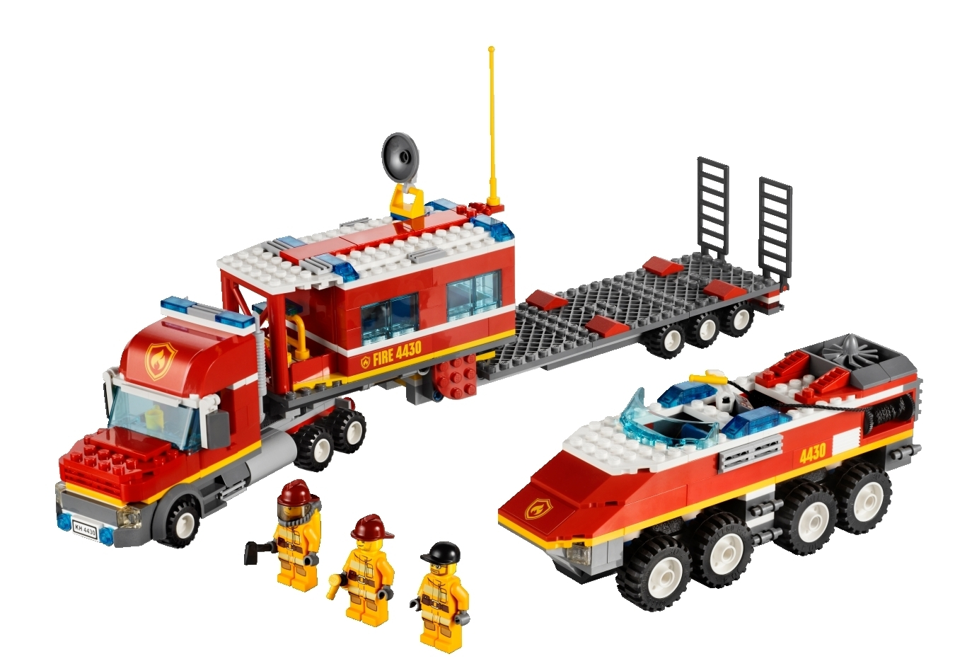 lego city 4430 mobile feuerwehrzentrale berlin. Black Bedroom Furniture Sets. Home Design Ideas