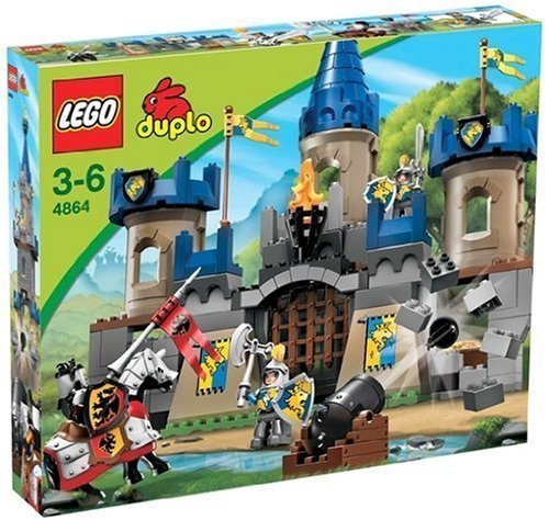 lego duplo 4864 castle gro e ritterburg spielzeug berlin teltow. Black Bedroom Furniture Sets. Home Design Ideas
