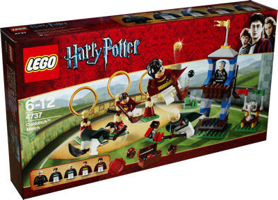 LEGO Harry Potter 4737 Quidditch-Turnier