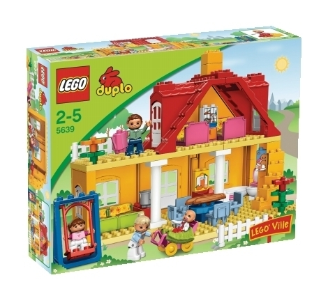 lego duplo 5639 familienhaus spielzeug berlin teltow. Black Bedroom Furniture Sets. Home Design Ideas