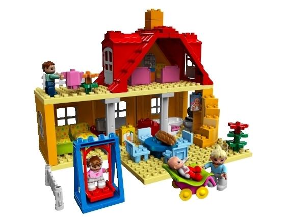 Lego duplo 5639 familienhaus spielzeug berlin teltow for Familienhaus berlin