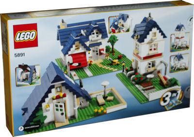 Lego creator 5891 haus mit garage miwarz spielzeug berlin for Modernes lego haus