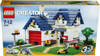 lego creator 5891 haus mit garage miwarz spielzeug berlin teltow. Black Bedroom Furniture Sets. Home Design Ideas