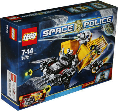 LEGO 5972 Space Police Containerraub