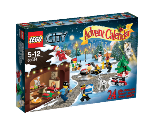 LEGO City 60024 Adventskalender