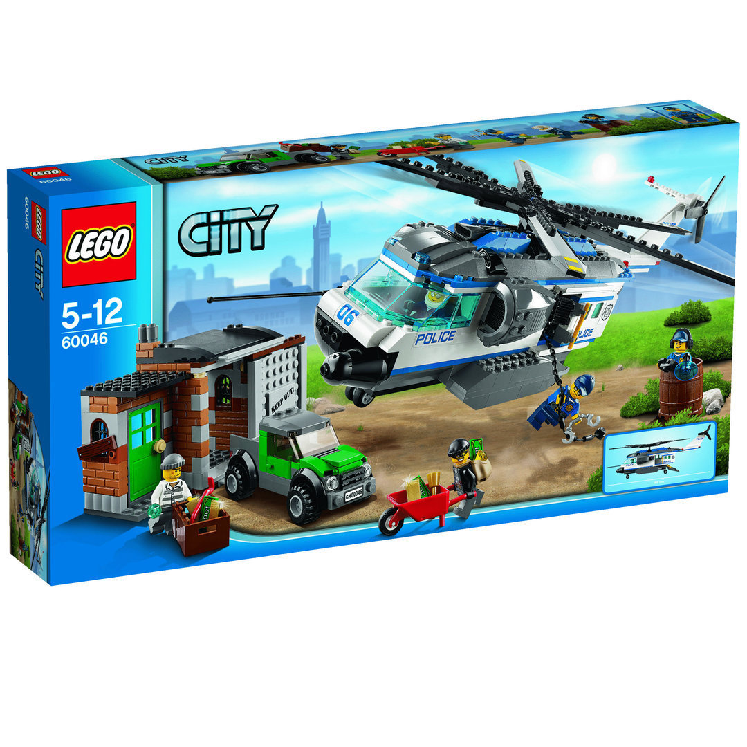 lego city 60046 verfolgung mit dem polizei hubschrauber teltow. Black Bedroom Furniture Sets. Home Design Ideas