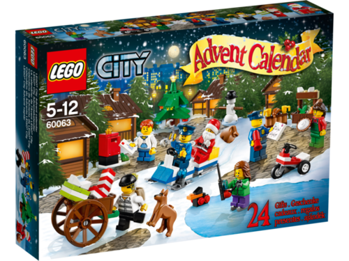 LEGO City 60063 Adventskalender