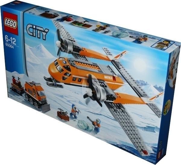 Lego City 60064 Arktis Versorgungsflugzeug Miwarz Berlin Teltow