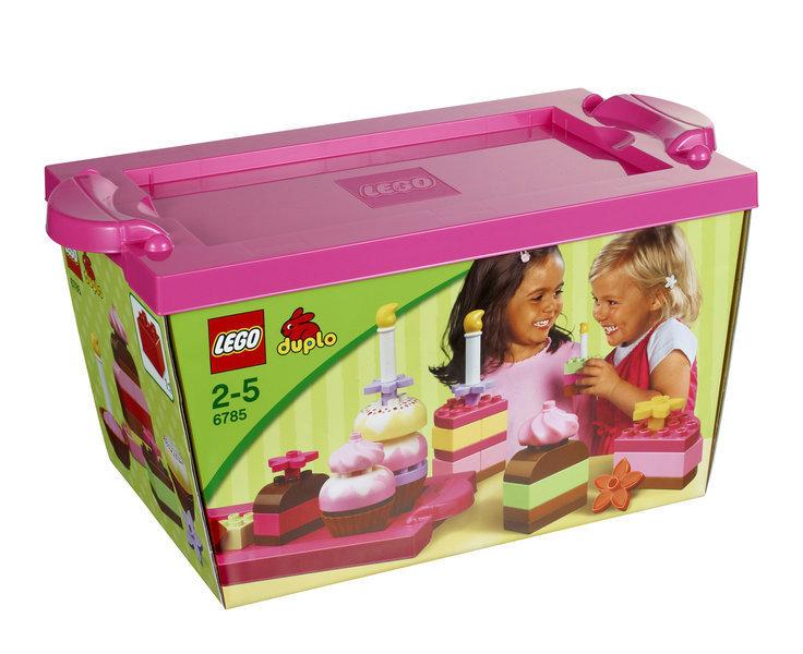 Lego Duplo 6785 Lustiges Kuchen Spielset