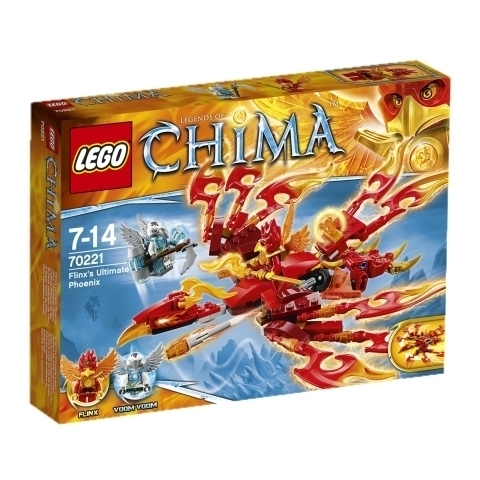 LEGO Chima 70221 Flinx' Ultimativer Phönix