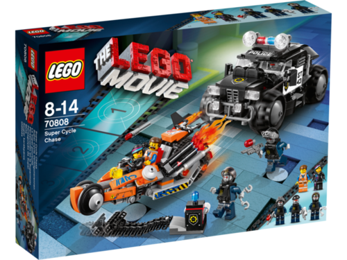 LEGO Movie 70808 Superbike Verfolgungsrennen