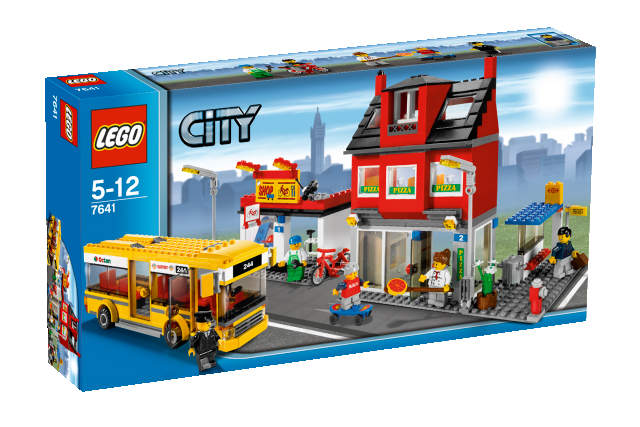 lego city 7641 stadtviertel mit bus spielzeug teltow. Black Bedroom Furniture Sets. Home Design Ideas