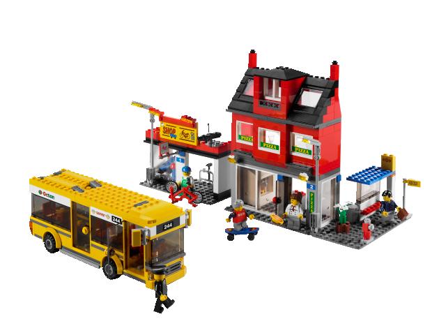 lego city bus instructions 60154