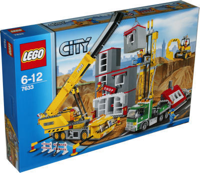 lego city 7633 baustelle spielzeug berlin teltow. Black Bedroom Furniture Sets. Home Design Ideas