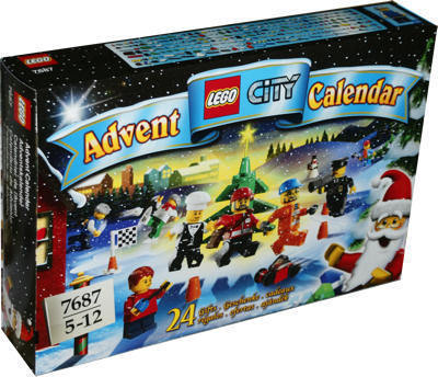 LEGO City 7687 Adventskalender