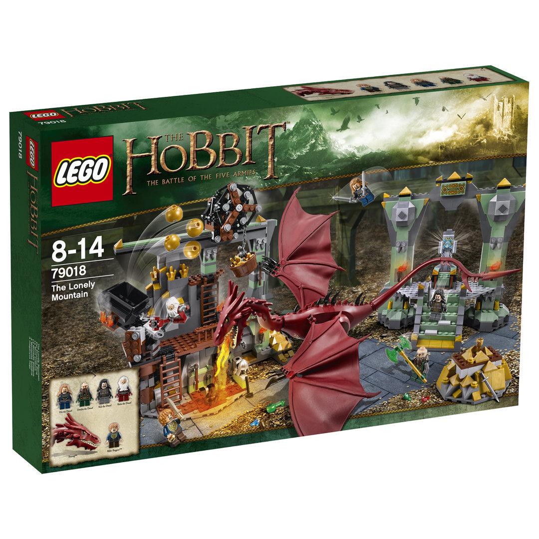 lego hobbit 79018 der einsame berg spielzeug teltow. Black Bedroom Furniture Sets. Home Design Ideas