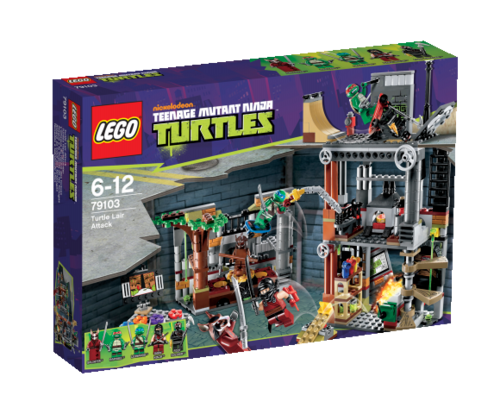 LEGO Teenage Mutant Ninja Turtles 79103 Turtles Hauptquartier
