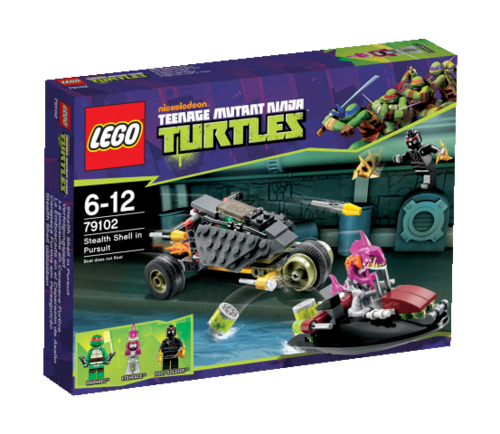 LEGO Teenage Mutant Ninja Turtles 79102 Verfolgungsjagd