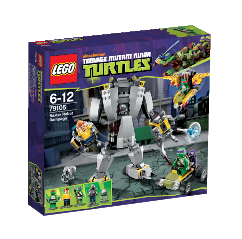 LEGO Teenage Mutant Ninja Turtles 79105 Baxters Roboter