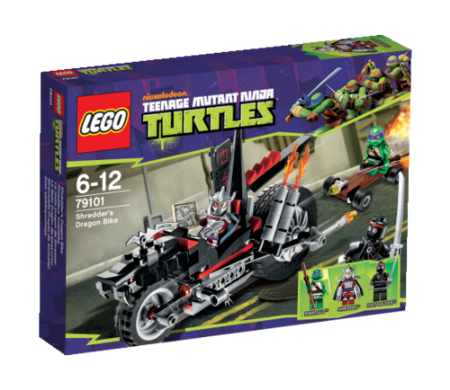 LEGO Teenage Mutant Ninja Turtles 79101 Shredders Turbobike