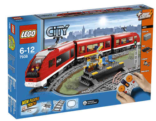 LEGO City 7938 Passagierzug