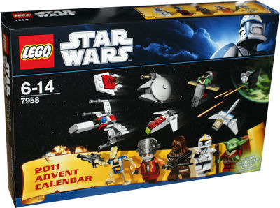 LEGO Star Wars 7958 Adventskalender
