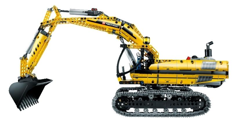 lego technic 8043 motorisierter raupenbagger spielzeug berlin. Black Bedroom Furniture Sets. Home Design Ideas