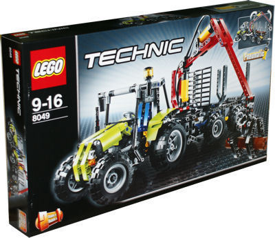 lego technic 8049 traktor mit forstkran spielzeug berlin. Black Bedroom Furniture Sets. Home Design Ideas
