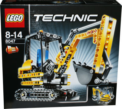 lego technic 8047 kompaktbagger miwarz spielzeug berlin teltow. Black Bedroom Furniture Sets. Home Design Ideas