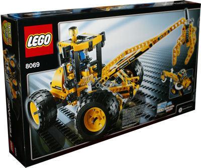 lego technic 8069 baggerlader spielzeug berlin. Black Bedroom Furniture Sets. Home Design Ideas