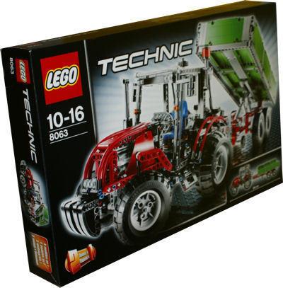 lego technic 8063 traktor mit anh nger spielzeug berlin teltow. Black Bedroom Furniture Sets. Home Design Ideas