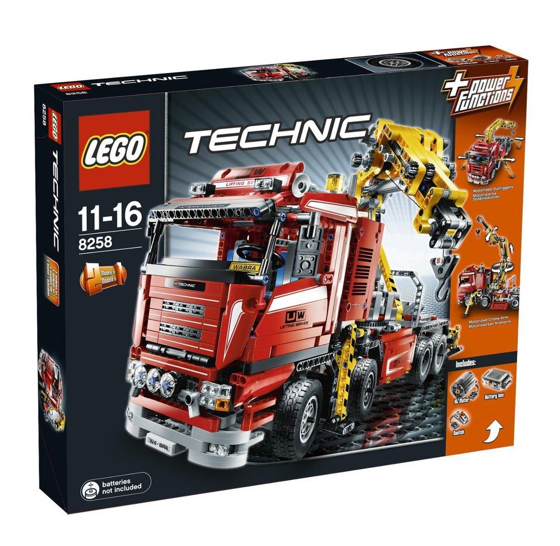 lego technic 8258 truck mit power schwenkkran berlin teltow. Black Bedroom Furniture Sets. Home Design Ideas