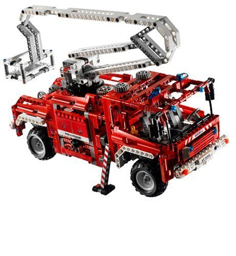 lego technic 8289 roter feuerwehr truck spielzeug berlin teltow. Black Bedroom Furniture Sets. Home Design Ideas