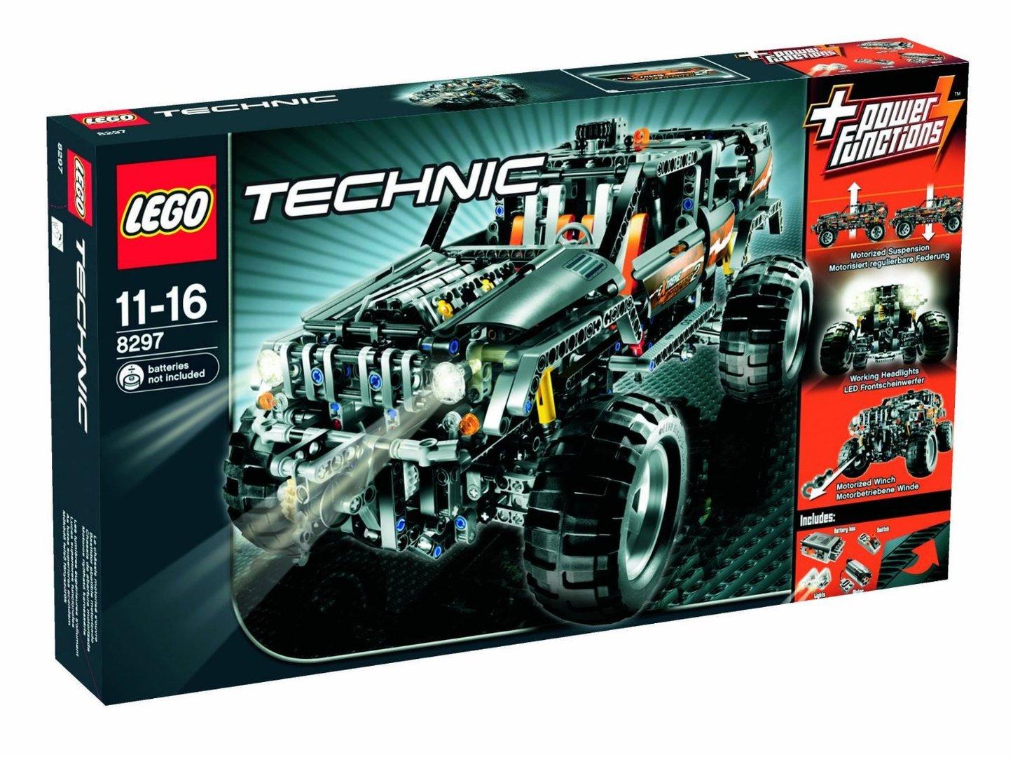 lego technic 8297 gro er gel ndewagen spielzeug berlin teltow. Black Bedroom Furniture Sets. Home Design Ideas