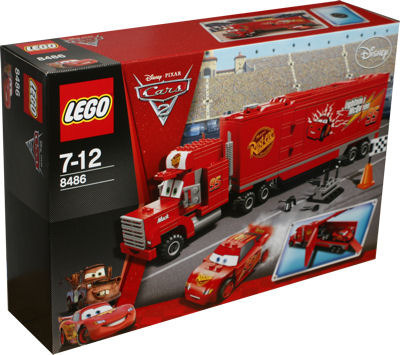 LEGO Cars 8486 Macks Team-Truck